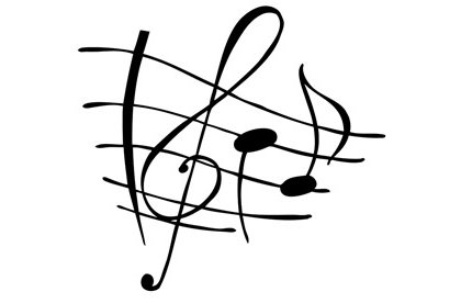 Funky g-clef image